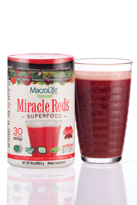 MacroLife® Naturals Miracle Reds Superfood