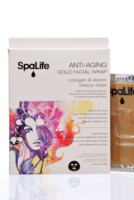 Anti-Aging Gold Facial Wrap - View 1