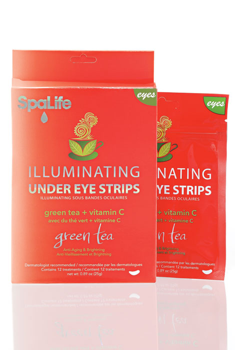 Green Tea and Vitamin C Illuminating Under Eye Strips - View 1