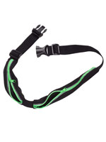 Fitness & Exercise - Activity Storage Belt with Reflective Safety Strips