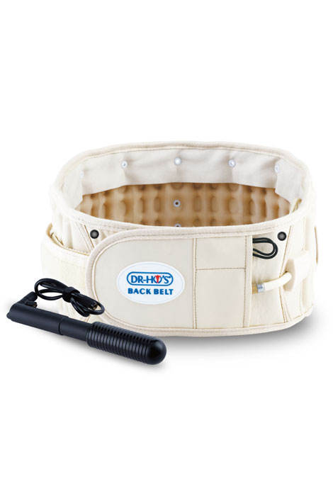 DR-HO's® 2-in-1 Back Relief Belt™ - View 1