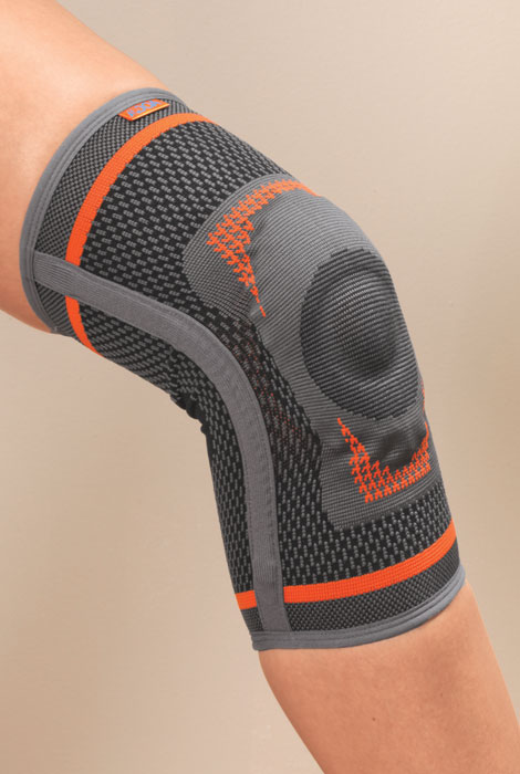 Premium Knee Support and Stabilizer with Gel Pad - View 1
