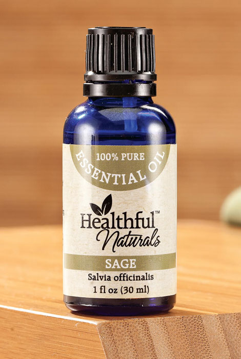 Healthful™ Naturals Sage Essential Oil, 30 ml