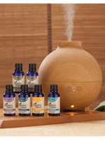 Essential Oils - Healthful™ Naturals Essential Oil Starter Kit & 600 ml Diffuser