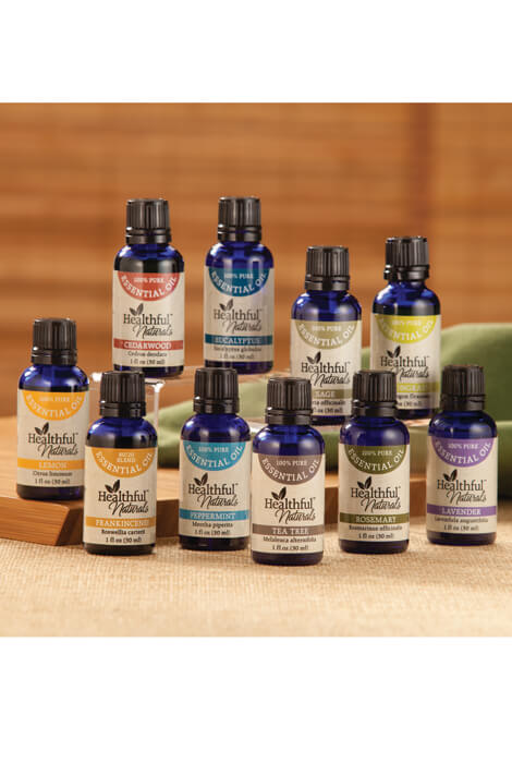 Healthful™ Naturals Premium Essential Oil Kit