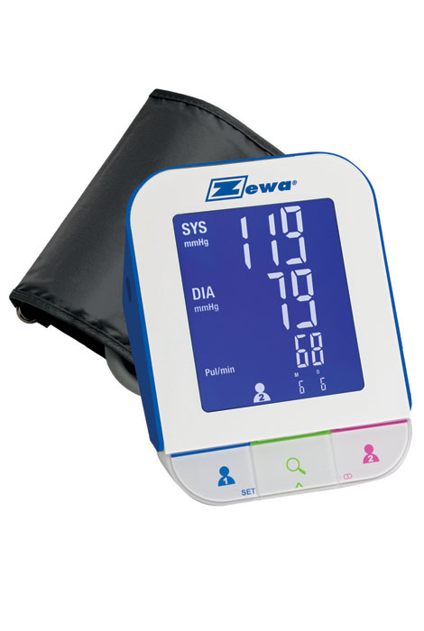 Zewa® Bluetooth Blood Pressure Monitor