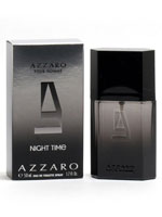 Men's Grooming & Skin Care - Azzaro Pour Homme Night Time Men, EDT Spray