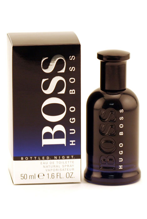 Hugo Boss Boss Bottled Night Men, EDT Spray - View 1