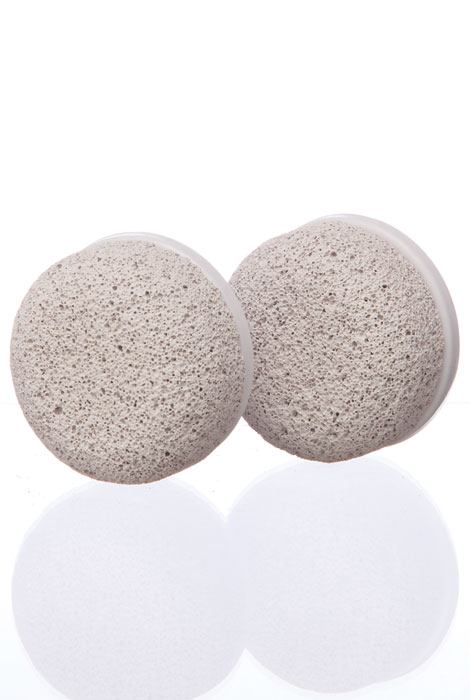 Pulsaderm® Pumice Stone Replacement Head, Set of 2 - View 1