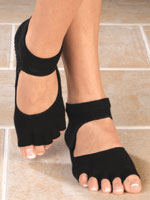 Shoes & Accessories - Grippy Open Toe Socks