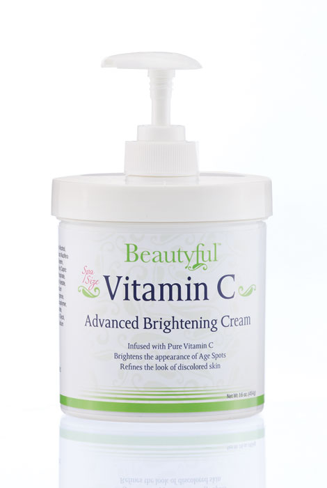 Beautyful™ Vitamin C Advanced Brightening Cream 16oz.