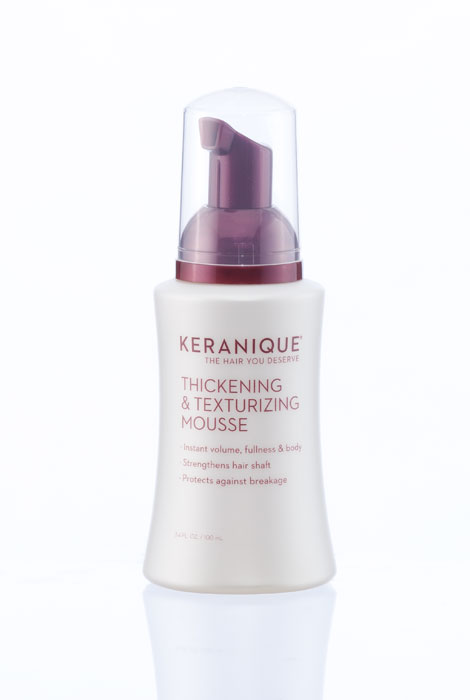 Keranique® Thickening and Texturizing Mousse - View 1