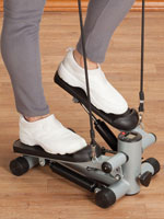 Fitness & Exercise - Seated Stepper with Resistance Bands
