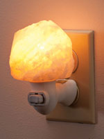 At Home Spa - Himalayan Salt Healthy Night Light