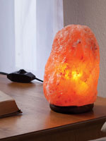 At Home Spa - Himalayan Salt Light with Dimmer