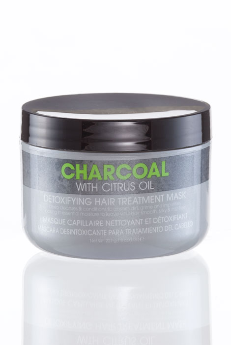 Charcoal Detoxifying Hair Treatment Mask - View 1