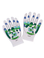 Health & Wellness - Reflexology Gloves, 1 Pair