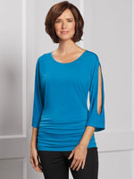 Clothing & Accessories - SlimU™ Kimono Sleeve Top