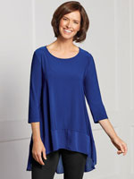 Clothing & Accessories - Chiffon Hem Tunic