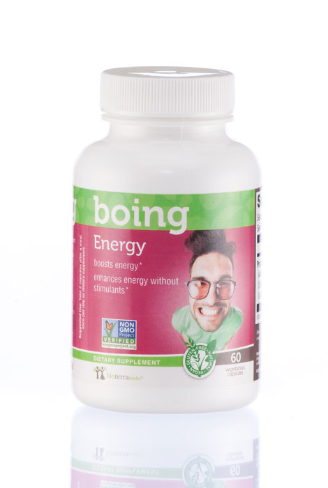 BioTerra Herbs™ Energy…Boing Natural Herbal Supplement - View 1