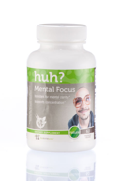 BioTerra Herbs™ Mental Focus…Huh? Natural Herbal Supplement - View 1