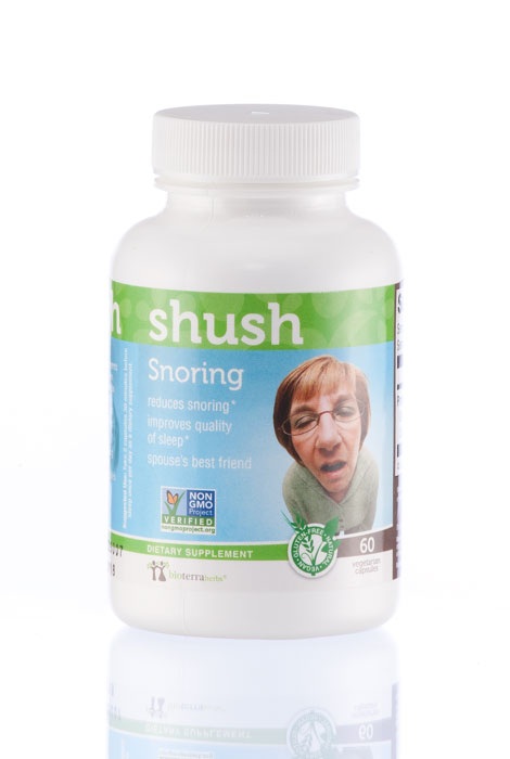 BioTerra Herbs™ Snoring…Shush Natural Herbal Supplement