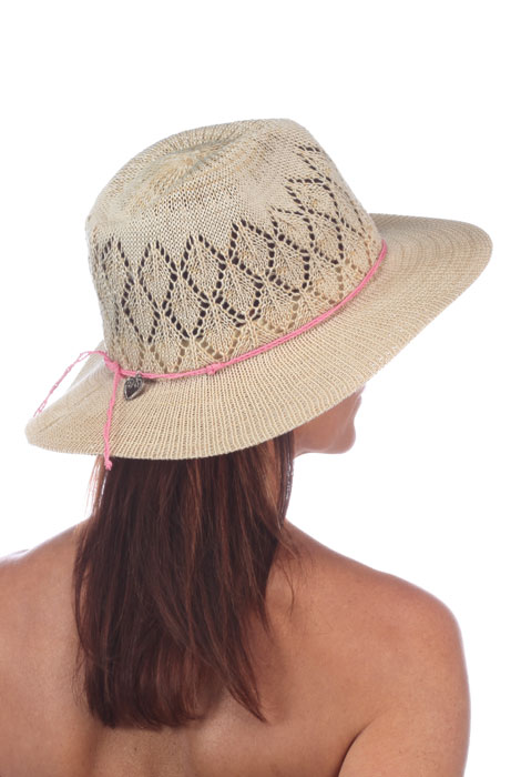 Frankie Breathable Knit Fedora by PhysicanEndorsed