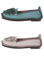 Stock Up Special - Save $5 on 2 or More - Mix & Match - Dezi Leather Ballerina Flat by Spring Footwear®