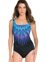 Fitness Swimwear - ActiveSpirit® Pocketz™ Birds of a Feather Tank Suit