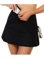 Travel Made Easy - ActiveSpirit® Techkini® Skirt