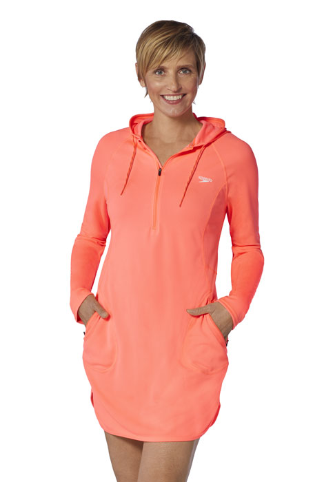 Speedo™ Cover Up UV protection Hoodie Dress