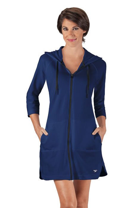 Speedo® Aquatic Fitness Hooded Terry Robe