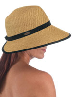 Apparel Promotion - Scala® Cappelli Braided Face Saver Brim Hat
