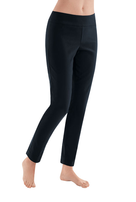 Slimfitters™ Compression Ponte Knit Skinny Pant - View 1