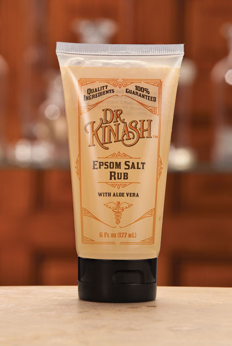 Dr. Kinash™ Epsom Salt Rub, 6 oz. - View 1