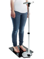Weight Management - Extendable Display Scale