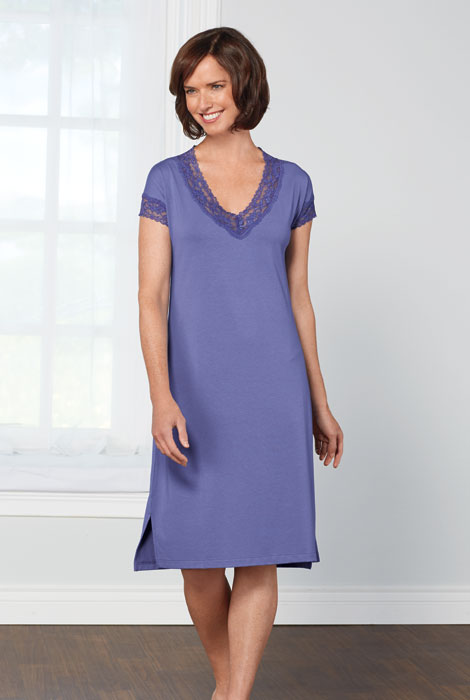 Lusome' Bebe Chemise Long Nightie - View 1