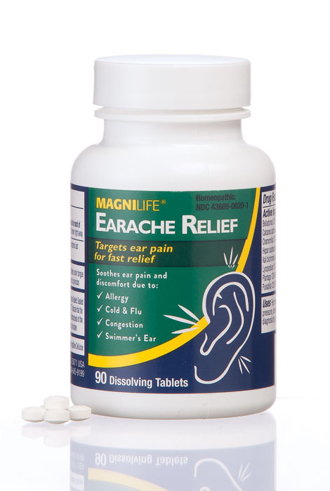 MagniLife® Earache Relief Dissolving Tablets - View 1