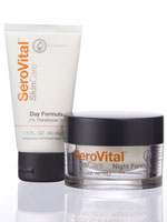 Cleansers, Exfoliators & Moisturizers - SeroVital™ SkinCare Day and Night Facial Rejuvenation System