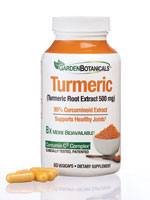 Vitamins & Supplements - Garden Botanicals™ Turmeric Vegicaps
