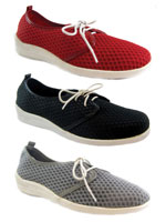 Footwear - Beacon® Laurie Mesh Lace-Up Shoe