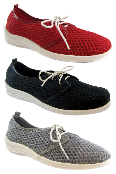Beacon® Laurie Mesh Lace-Up Shoe