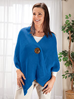 Tops & Dresses - One Button Shawl by Sawyer Creek