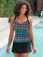 slimU™swim - SlimU™ 3 Piece Tankini Set