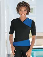 Fitness Swimwear - SlimU™ Swim Wrap Shirt