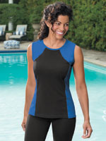 View All Swim - SlimU™ Sleeveless Top