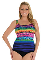 Top Rated - Longitude® St. Lucia Scoopneck Tankini Top