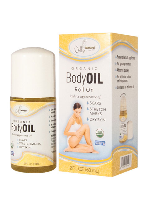 Organic Roll On Body Oil - View 1