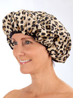 Styling Tools & Products - Terry Lined Shower Cap