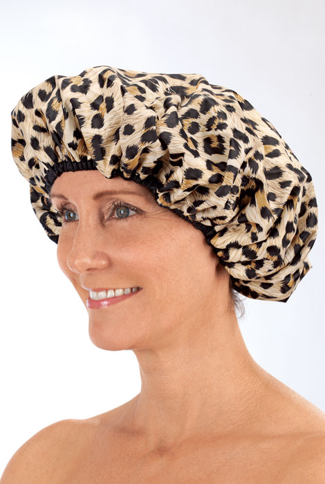 Terry Lined Shower Cap
